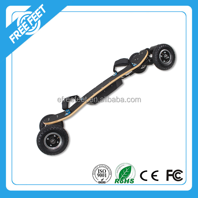 Custom 48v 11Ah brushless motor carbon fiber skateboard trucks with remote control