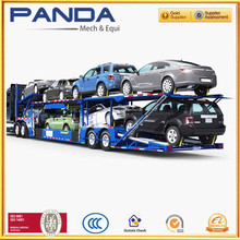 2016 Panda New 2/3 Axles Hydraulic Car Carrier Truck Trailer , Car Transport Trailer On Sale
