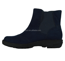 Fashion navy ankle working women's chelsea boots shoes 2017