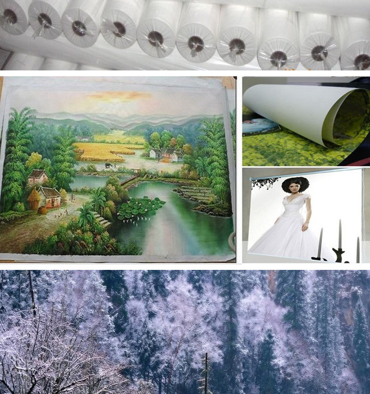 Waterproof cotton painting canvas