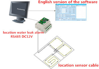 Industrial using remote control RS485 MODBUS water flood leak stop with CE/ROSH TRADE ASSURANCE