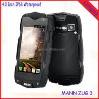 Original MANN ZUG 3 A18 IP68 Waterproof Dual Core Dual SIM 4GB ROM Rugged Mobile Phone