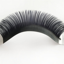 Express Ali Korea Glue Eyelashes 0.15 0.20mm Ellipse <strong>Flat</strong> Lash Extension Own Brand <strong>Flat</strong> Lashes