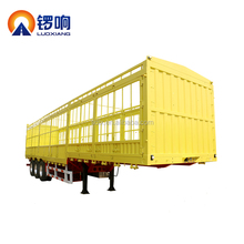 3Axle Cargo Stake Semi Trailer with Long Locks