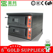 Shentop STPE-GP24 commercial for restaurant bakery oven pizza bakery equipment prices gas oven