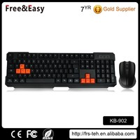 Hot sell wireless gaming keyboard and mouse