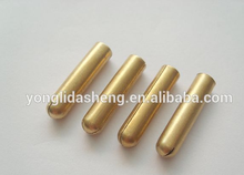 YLDS aglets for cord end metal drawstring tips metal glue tips