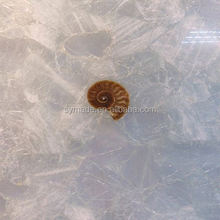 China Crystal White marble for waterjet medallion and pattern marble furniture