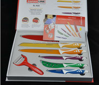 swiss quality red cross chef knives set