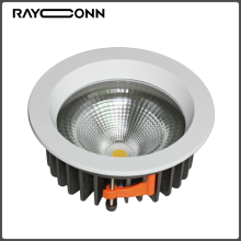 21W square 240v dimmable downlight led black