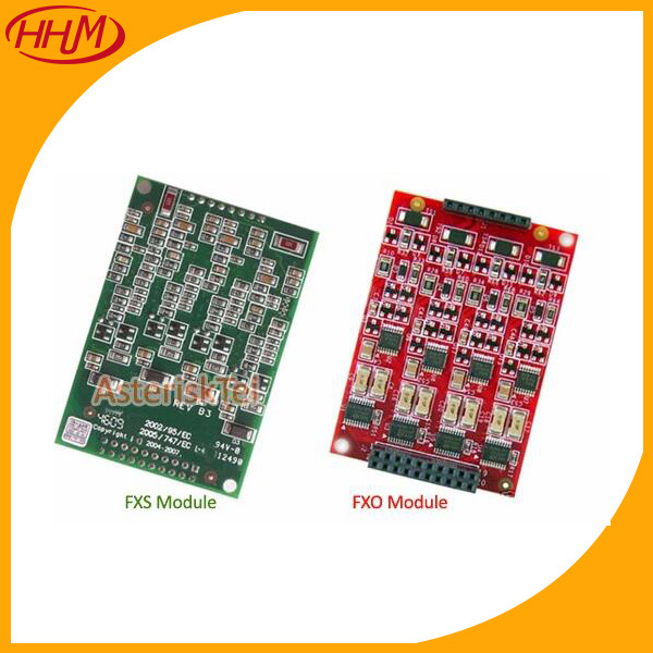 Quad FXS module X400M for digium TDM800P asterisk card