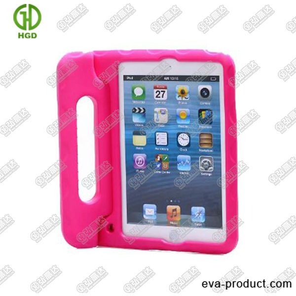 high quality tablet pc case for ipad mini with rotatable stand/handle