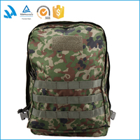 2015 Factory Wholesale heavy duty outdoor waterproof desert Camouflage Army Tactical Backpack bag