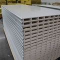 Low cost high quality magnesium sulfide sandwich panel for clean room from China