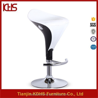 Furniture Design Plastic Bottom For Chairs and Swivel Modern Bar Stools