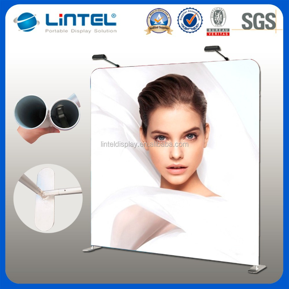 portable fabric advertising promotional display standee
