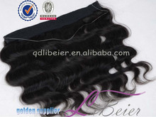 wholesale best fish line hair extensions water wave brazilian hair The elastic line hair weave