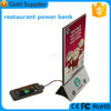 Hot sale in 2015 high quality menu power bank mobile charger bank for iphone 5 6 6s
