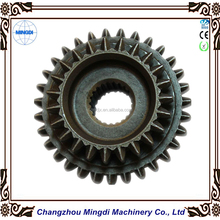 Forging Cast Iron Material Crow Wheel & Pinion Gear / Pin Roll