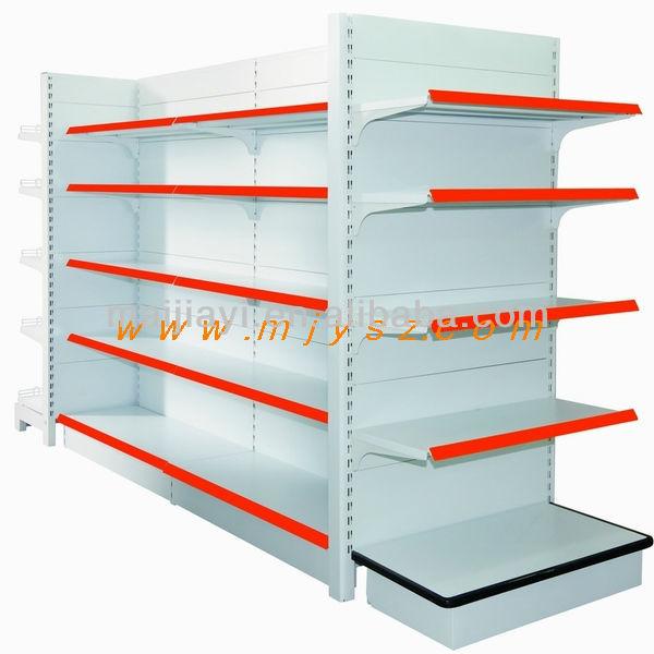 Heavy duty classico scaffali supermercato gondola metallo for Scaffali a gondola