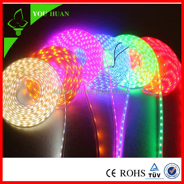 Hot sale china manufacture christmas decorative light 12V super light waterproof rgb led strip light