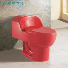 Chinese wc toilet siphonic one piece sanitario bathrooms ceramica red toilets one piece color closet