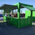 Luxury mobile container bar outdoor cafe shop coffee shop container