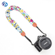 Beautiful Flower Design Soft Camera Strap Scarf Neck Lanyard For Cameras