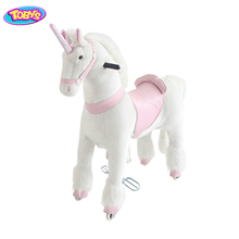 Well Priced adult pony ride on toys walking toy unicorn