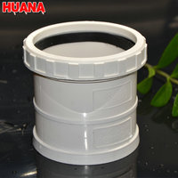 White color factory price water supply expansion schdule 80 pvc pipe joints
