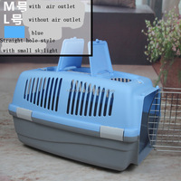 Quality assured professional airport approved pet dog flightcase kennel removable pet bag
