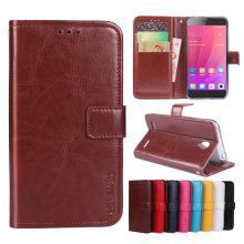 Luxury Flip PU Leather Wallet Mobile phone Cover Case For ZTE Blade A520 with Card Holder