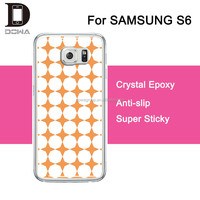 2015 Sales lead decorative colorful cell mobile phone case for samsung s6