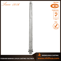 B003-1 Outdoor Retro Style Cast Aluminum Light Pole