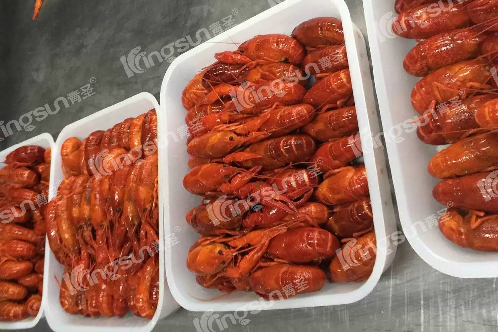 Cooked & Peeled Frozen whole round Vacuum pack Crayfish Crawfish in Great Flavor