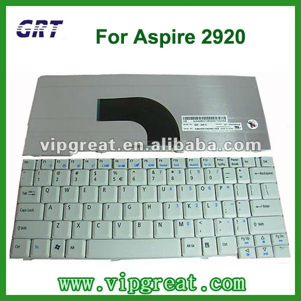 New for Acer 2920 2420 Laptop Keyboard white