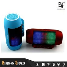 Portable Wireless Bluetooth Speaker MP3 Music Player with Led Light T-2218A
