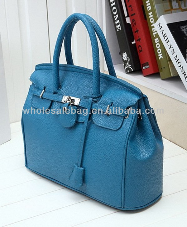 2014 Factory Supply Trend Designer Lichee Leather Replica Brand Handbag Tote Bag For Ladies Women Girl Bag In Stock Wholesale