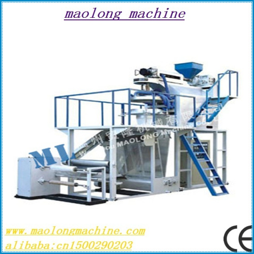 saving labour sjf series pp film blowing machine