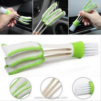 Mini Duster for Car Air Vent Air Conditioner Cleaner and Brush Dust Collector Cleaning Cloth Tool for Keyboard Window Leaves