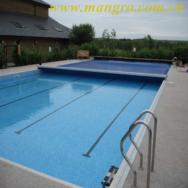 pvc coated polyester fabric tarpaulin for pool cover, swimming pool