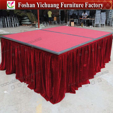 Hotel event removable folding stages YC-W08