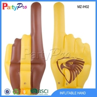 Latest Innovative Product Cheering Hand Giant Inflatable Hand