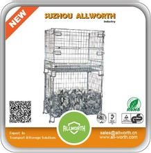 Cheap Lockable wire mesh heavy duty storage bins