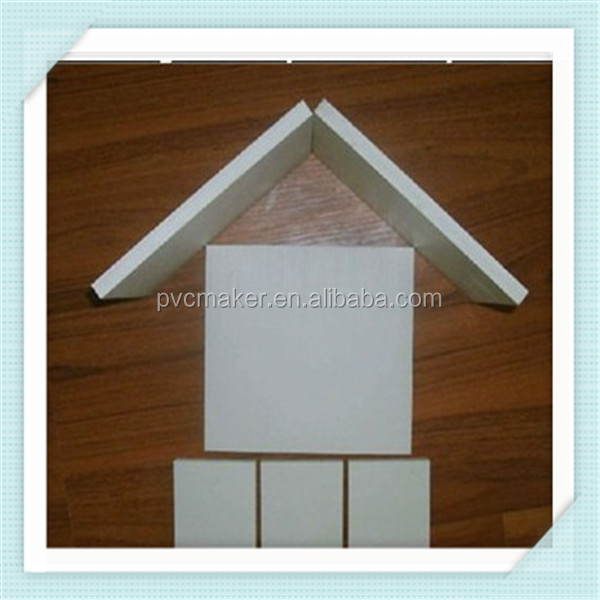 Green 2015 hot sale carved white pvc sheets foam boards