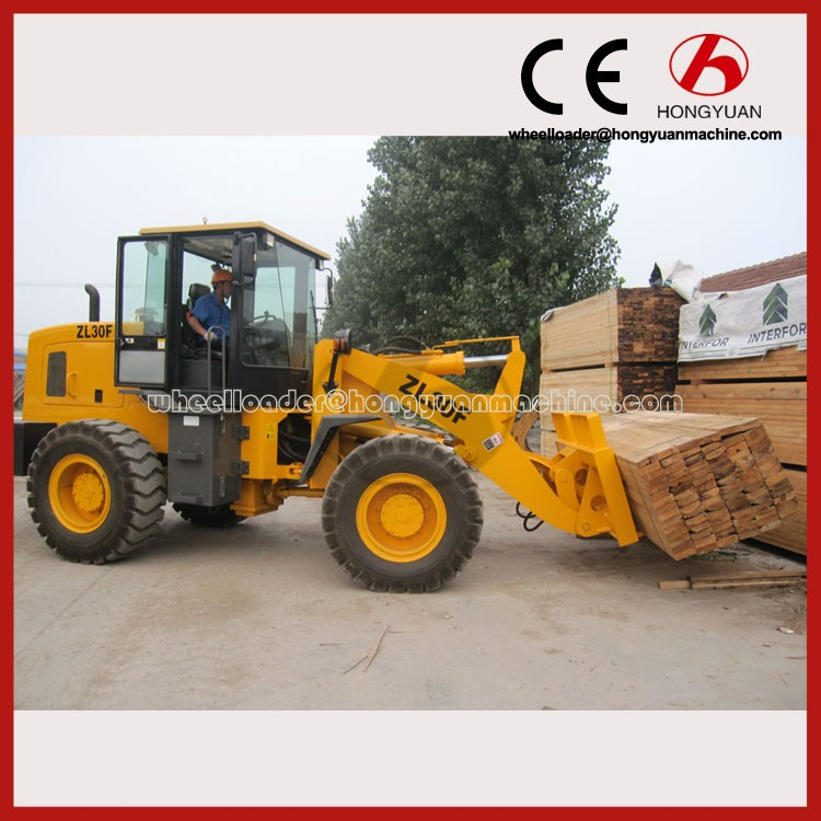 Front Wheel loader with4T loading capacity mini track loader