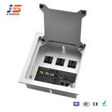 JS-Z400 aluminum alloy tabletop socket