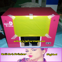 CE high best quality Colorful digital nail art printer machine