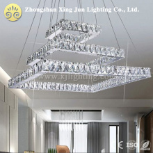 Hot sale clear luxury Beautiful Design 42W modern large crystal chandelier for Home