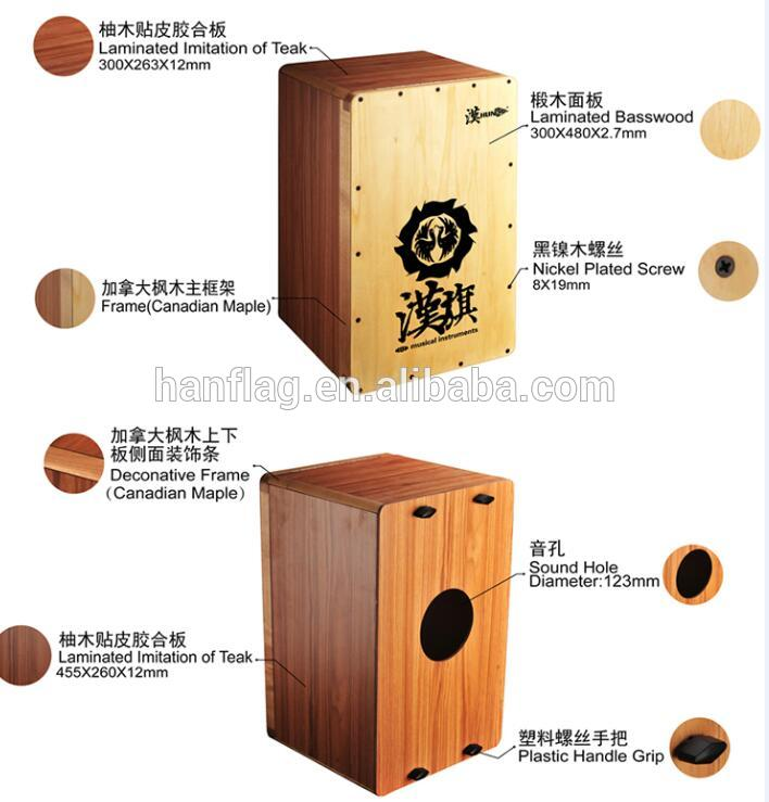patent musical instruments tradional wood drum Collapsible Cajon